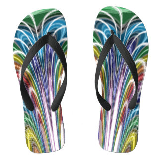 Verrückte Farben Flip Flops