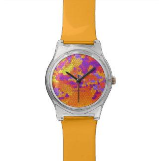 """""""verrückte Farben"""" (Y) Uhren"""