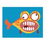 Verrückte Fische Postkarten