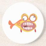 Verrückte Fische Untersatz