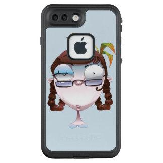 verrückte Frau im Apfel LifeProof FRÄ' iPhone 8 Plus/7 Plus Hülle
