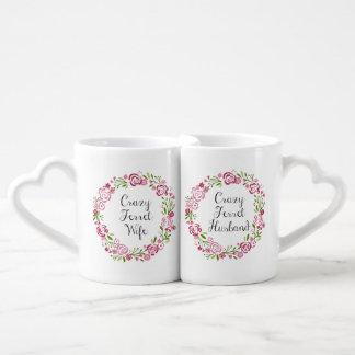 Verrückte Frettchen-Ehefrau-u. Ehemann-Tassen Liebestassen