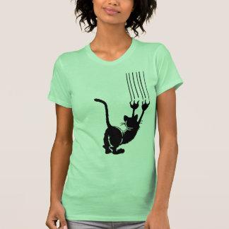 Verrückte Katze Shirt