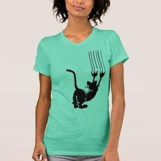 Verrückte Katze T-Shirt