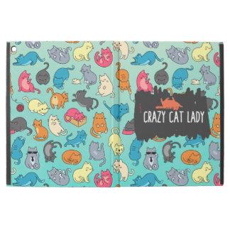 Verrückte Katzen-Dame Cute und Playful