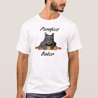 Verrückte Katzendame der Purrfect T-Shirt