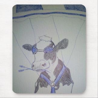 Verrückte Kuh Mauspads