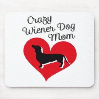 Verrückte Liebe der Dackel-Hundemamma-I meine Mauspad