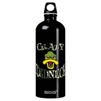 Verrückte Redneck-Enten-Kopf-Camouflage Wasserflasche
