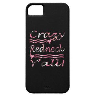 Verrückte Redneck Yall Rosa-Tarnung iPhone 5 Etui