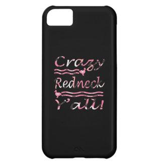 Verrückte Redneck Yall Rosa-Tarnung iPhone 5C Hülle