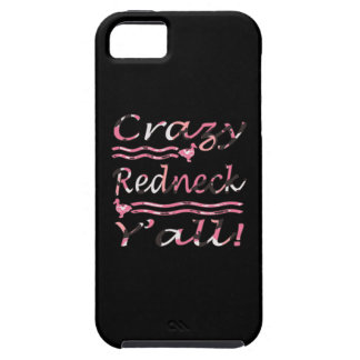 Verrückte Redneck Yall Rosa-Tarnung Tough iPhone 5 Hülle