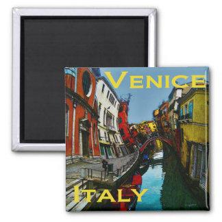 Verrückte Reise-Geschenke - Venedig Quadratischer Magnet