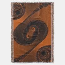 Verrückte schöne abstrakte Musterthrow-Decken Decke