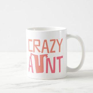 Verrückte Tante Kaffeetasse