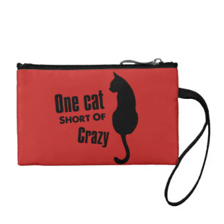 Verrückte Tasche Katzen-Damen-Funny Meow Wristlets
