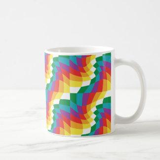 Verrückte Tasse von Farben