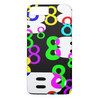 Verrückter 8 Telefon-Kasten iPhone 8 Plus/7 Plus Hülle