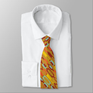 Verrückter abstrakter länglicher Gegenstand Krawatte