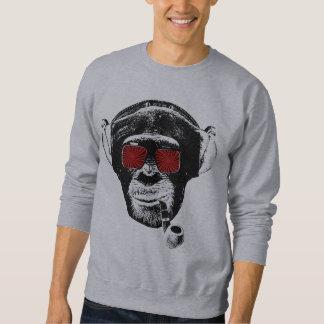Verrückter Affe Sweatshirt