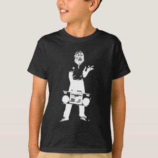 Verrückter Affengettojunge T-Shirt