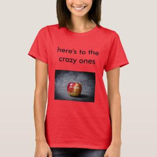 verrückter Apfel T-Shirt