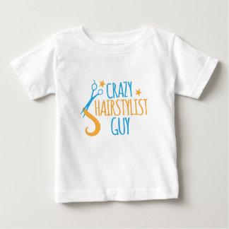 verrückter Hairstylist-Typ Baby T-shirt