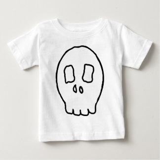 Verrückter Schädel Baby T-shirt