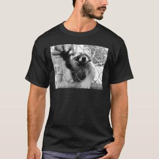 Verrückter Waschbär T-Shirt