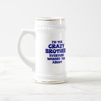 Verrücktes Bruder-Geschenk Bierkrug