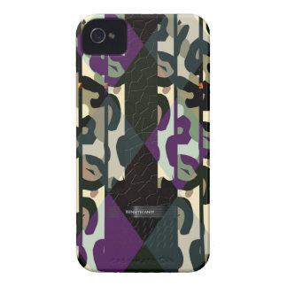 Verrücktes cooles Cheetah-Dreieck-Muster Case-Mate iPhone 4 Hülle