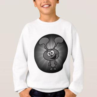 Verrücktes Häschen Sweatshirt