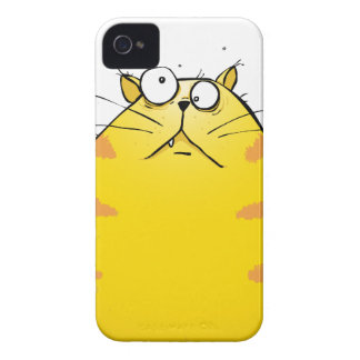 Verrücktes Ingwer-Tom-Katze iPhone 4 Exklusives Fa Case-Mate iPhone 4 Hüllen