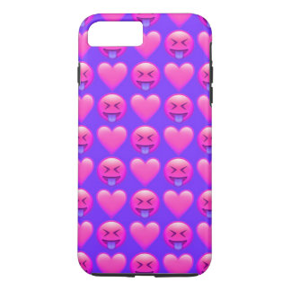 Verrücktes Liebe Emoji iPhone 8/7 iPhone 8 Plus/7 Plus Hülle