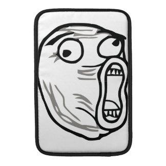 Verrücktes Lol Comic Meme Sleeve Fürs MacBook Air