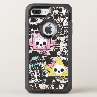 Verrücktes Vogelmuster OtterBox Defender iPhone 8 Plus/7 Plus Hülle