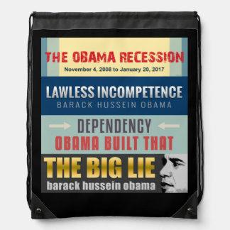 Versagter Präsident Obama Turnbeutel