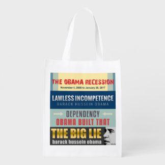 Versagter Präsident Obama Tragetasche