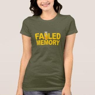 Versagtes Gedächtnis-Shirt - wählen Sie Art u. T-Shirt