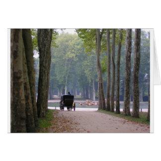 Versailles-Buggy 1 Karte