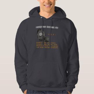 Versammlungs-Überlebensausrüstung: GasmaskeHoodie Kapuzensweatshirts