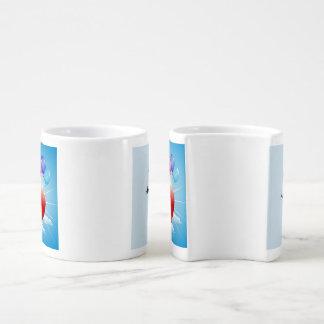 Verschachtelungs-Kaffee-Tassen - glücklicher Liebestassen
