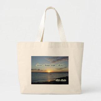 Verschiedene Einzelteile - von Maui mit Aloha Einkaufstaschen