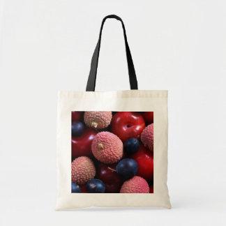 Verschiedene Frucht-Tasche Budget Stoffbeutel