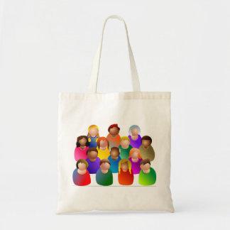 Verschiedene Gemeinschaft Tasche