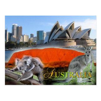 Verschiedenes Australien Postkarte