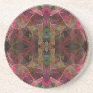 Verschiedenes Series-28---Rosa Untersetzer 1 von