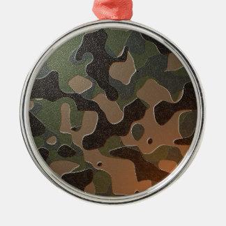 Verschleiert Silbernes Ornament