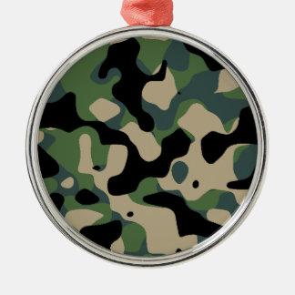 Verschleiert Standard Dschungel Silbernes Ornament