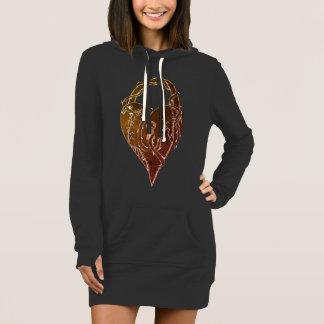 Verschlossene Herz-Vorlagen-Kunst Kleid
